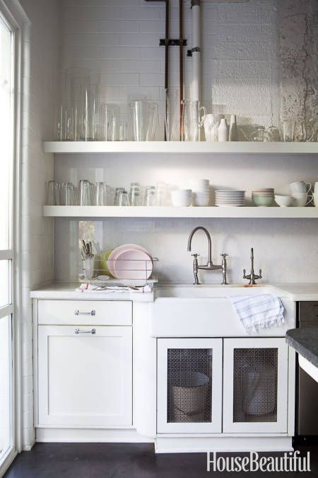 Beautiful Open Shelving And Interiors On Pinterest