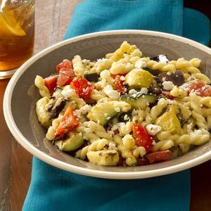 Vegetable pasta salads, Vegetable pasta and Pasta salad on Pinterest