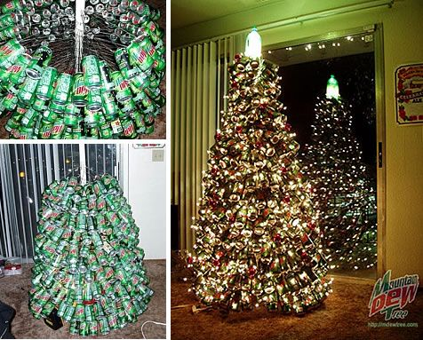 Trees can to and markers on pinterest for Things made from waste plastic bottles
