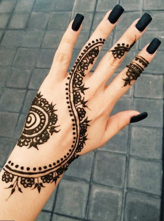Small Tattoo Designs Simple Henna Tattoo 2