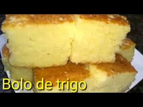 Bolo De Trigo Tamanho Familia Youtube Em 2020 Com Imagens