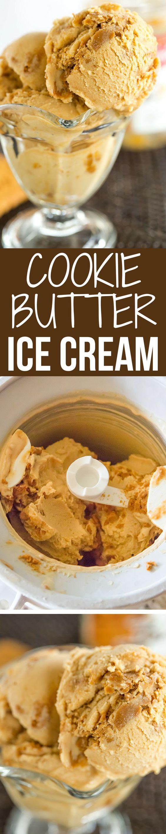 This cookie butter ice cream is a must for anyone who can't keep a ...