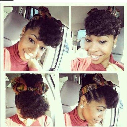 Enjoyable Head Scarfs Everyday Look And Twists On Pinterest Short Hairstyles Gunalazisus