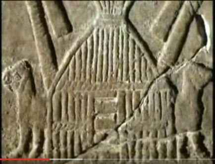 ancient relief of reed huts in Mesopotamia; columns of bound reeds like quansut huts  https://www.youtube.com/watch?t=3&v=3TIcVJGfjLU