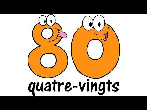 ♫ FRENCH Numbers 1-100 ♫ Big Numbers Song ♫ Compter jusqu