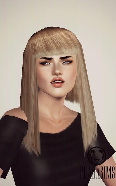 My Sims 3 Blog: PradaSims Hair S003 for Females