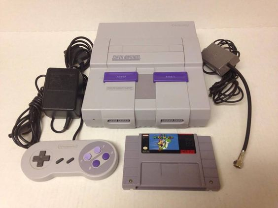 Super Nintendo SNES System Bundle W/ Super Mario World-Works Perfectly!  $89.99End Date: Wednesday Sep-14-2016 18:41:31 PDTBuy It Now for only: $89.99Buy It Now | Add to watch list