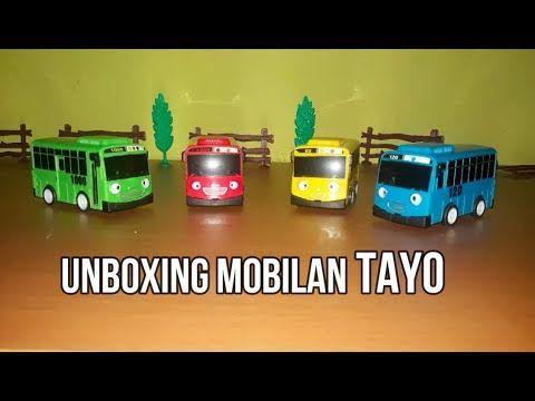 Unboxing Mainan Mobilan Tayo Mainan Mainan Anak Mobil