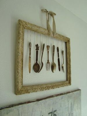 a few pretty things: Cutlery for decoration