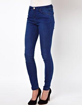 A Wear Mona Skinny Jean In Mid Wash