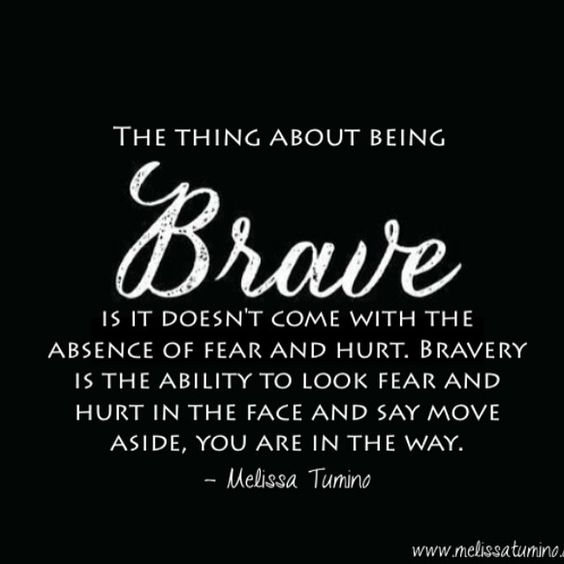 """Those times you've had to look at fear and say, """"Move aside, you are in the way!!!!!""""  #BeenThere  #DoneThat"""