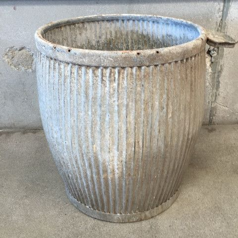 Galvanized Dolly Tub From the UK – UrbanAmericana