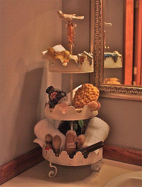 Our guest bath @acottageindustry.blogspot.com