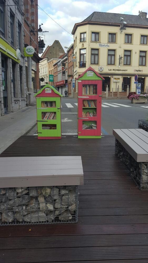 Boite à livres Enghien