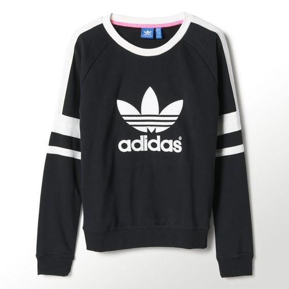 adidas Logo Crew Sweatshirt | adidas UK