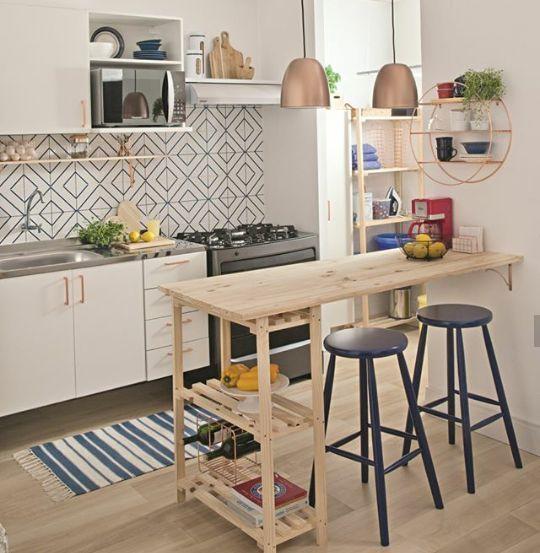 Kitchen Decorar Cocinas Pequenas Cocinas Pequenas Con Barra Decoracion De Cocina