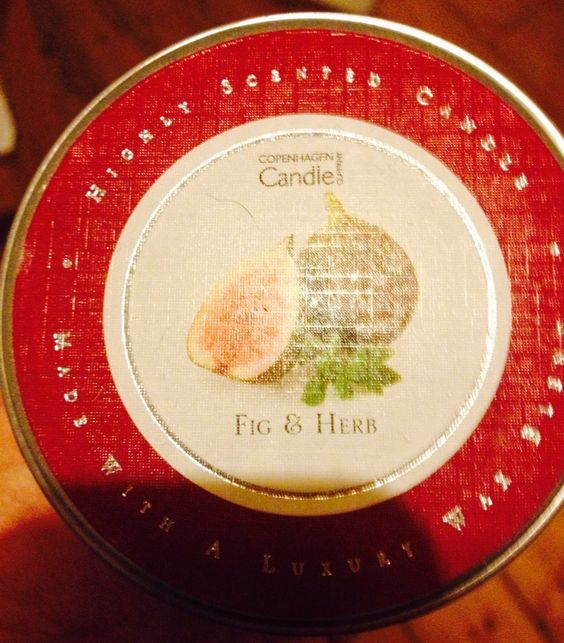 Fig and Herb Copenhagen candles