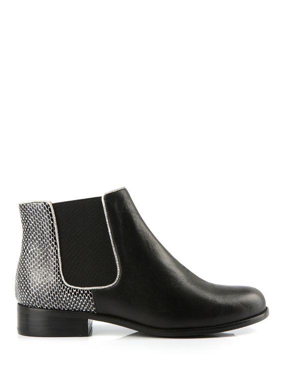 bottine tazo noir bottines chaussures femme femme shoes pinterest jaune assiettes. Black Bedroom Furniture Sets. Home Design Ideas