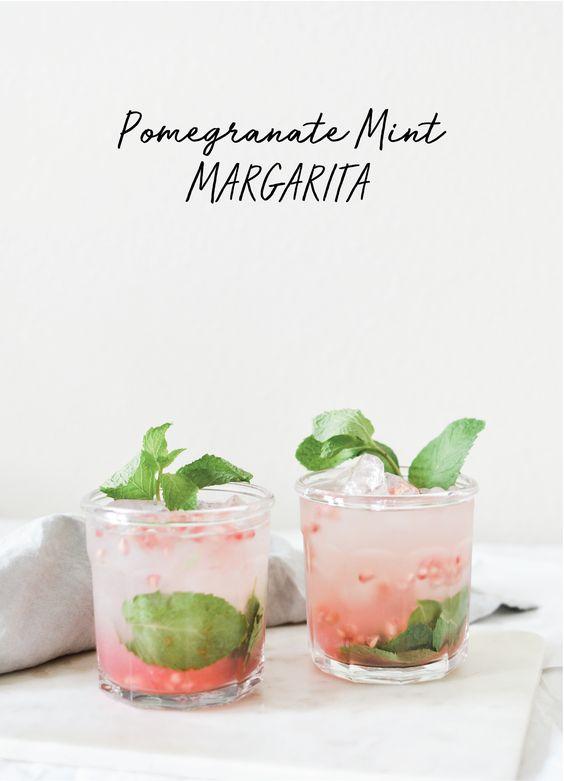Pomegranate Mint Margarita