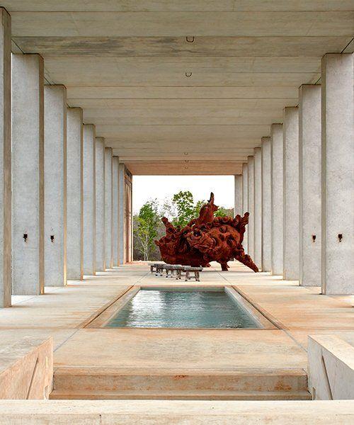 Javier And Arcadio Marin Erect Monumental Studio In Mexico In 2020 Mexico Design Architecture Architecture Design