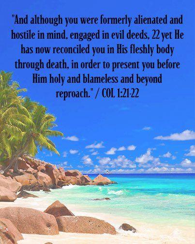 Colossians 1:21-22