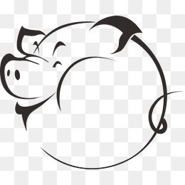 Tummy Cartoon Pig Vector Cartoon Clipart Pig Clipart Tummy Pigs Png Transparent Clipart Image And Psd File For Free Download Pig Cartoon Pig Vector Pig Silhouette