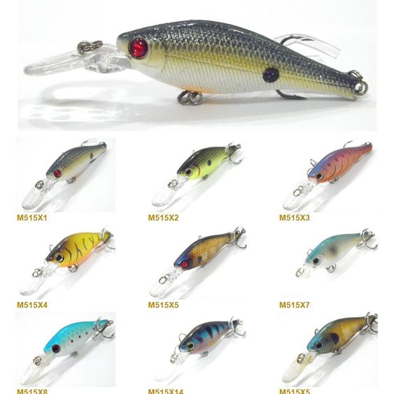 electronic fishing lures fishing lure minnow crankbait hard bait, Hard Baits