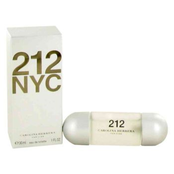 212 Perfume by Carolina Herrera, 1 oz Eau De Toilette Spray (New Packaging) for Women -  212 Perfume by Carolina Herrera 1 oz Eau De Toilette Spray (New Packaging) for Women. A Long-lasting, Off-beat, Light Floral Fragrance With Musk Undertones. Personifies Todays Playfully Hip, Modern Cinderella. For An Exciting Fragrance Experience That Wraps The Wearer In An Intrigue. Buy...