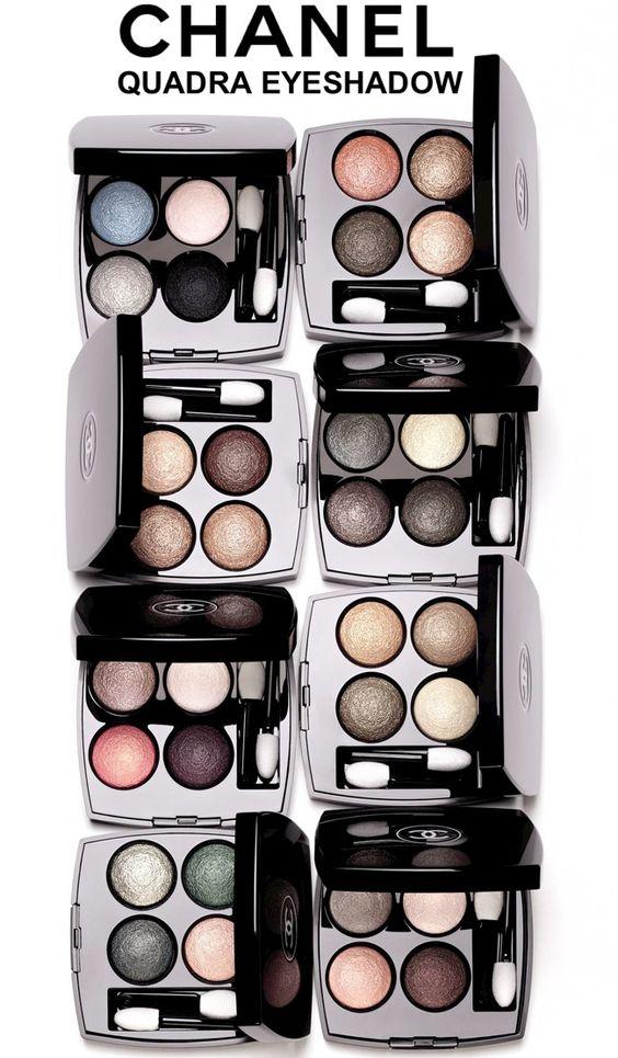 CHANEL Quadra Eyeshadow: Review & Photos via beautifulmakeupsearch.com