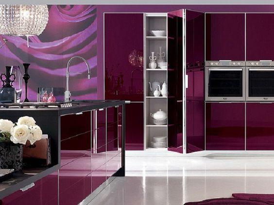 a magenta kitchen cool architecture ideas pinterest magenta kitchens and modern - Magenta Kitchen Design