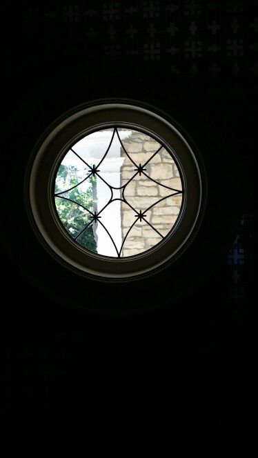 Powder room window downstairs