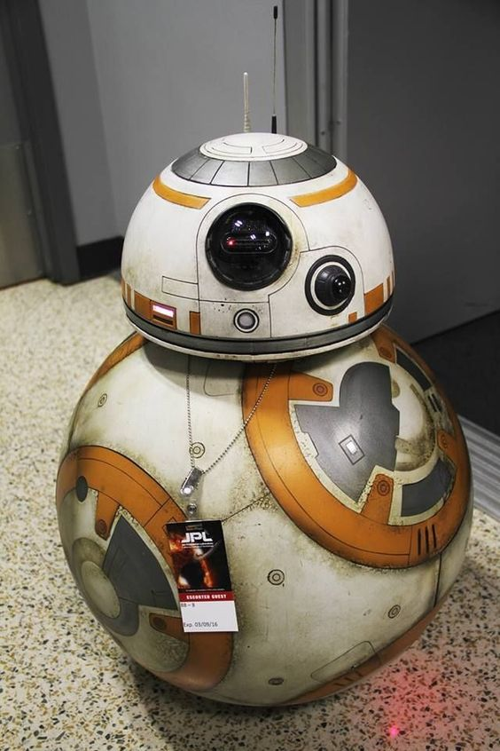 39 star wars 39 droid bb 8 had a great day at nasa making new - Robot blanc star wars ...