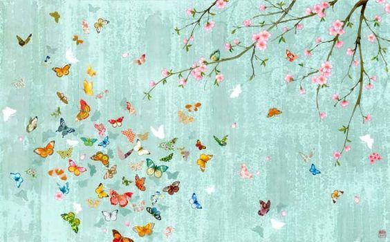 love cherry blossums