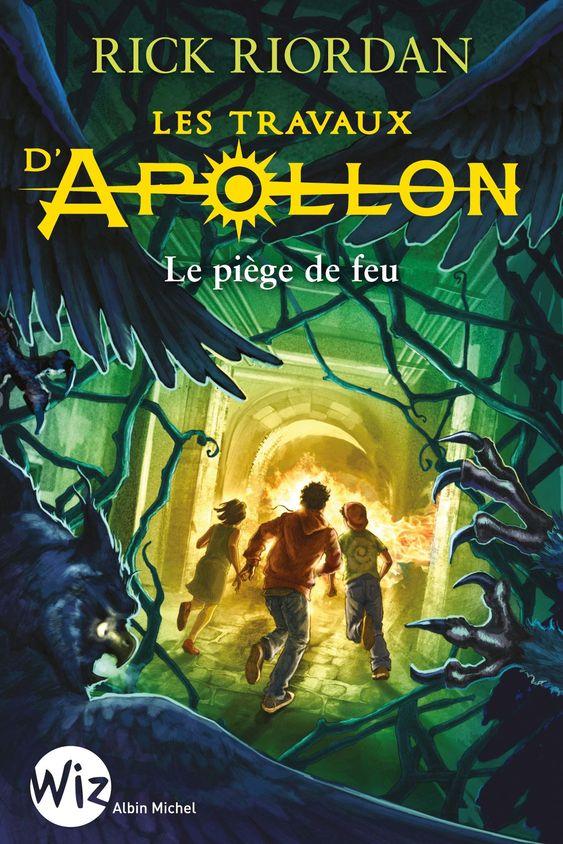 Les travaux d'Apollon T3 et 4 de Rick Riordan