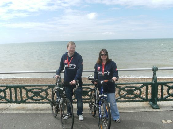 2 of our staff members took to their bikes and rode from London to Brighton this month (June 2012) to help raise funds for the British Heart Foundation!