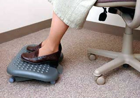 Posture Ergonomic Tip Keep Your Feet On The Floor Or Stable Footrest If You Are Short