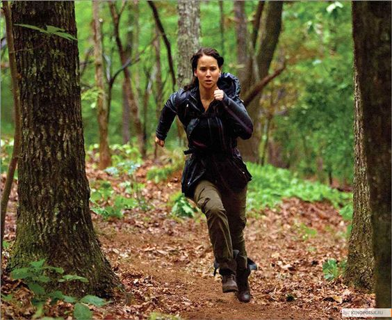 train like you're going to be a contestant in the hunger games....good motivation for a workout, i'd say.