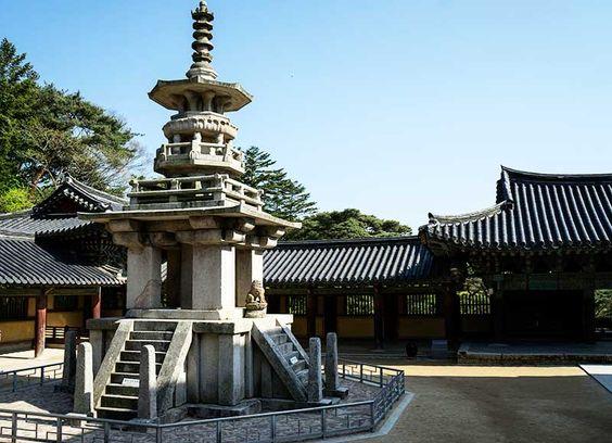Cảnh quan trong chùa