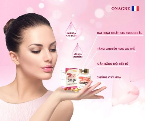 Điều hòa nội tiết tố và chu kỳ kinh nguyệt với viên uống nữ sắc Onagre
