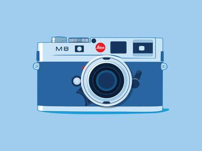 Dribbble - Leica by Sergey Semenov