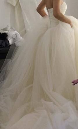 Pinterest the world s catalog of ideas for Vera wang princess wedding dress