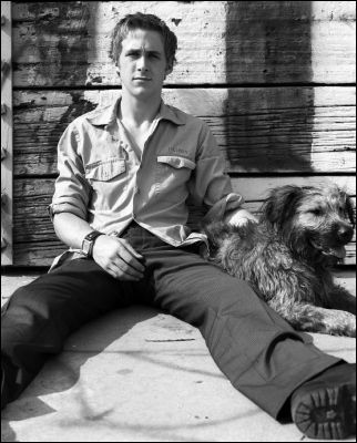 Ryan Gosling and his pup