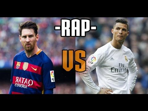 Rap Messi Vs Cristiano Ronaldo Youtube Messi Vs Cristiano Ronaldo Ronaldo