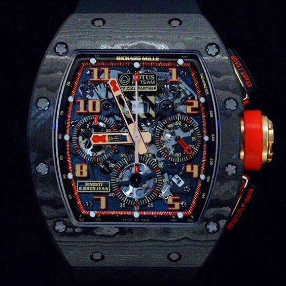 Richard Mille RM011 Lotus NTPT Carbon