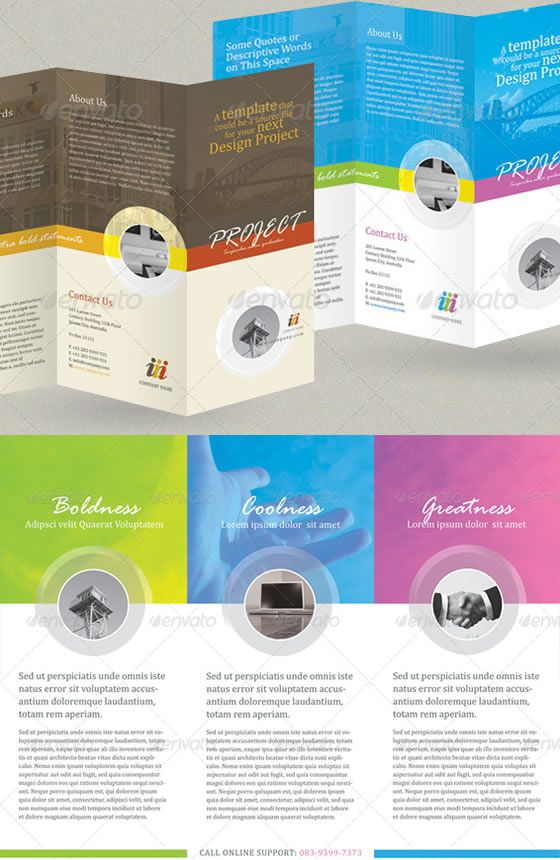 Free Tri-Fold Brochure Templates Senior Living Community - Tri - free tri fold brochure templates word