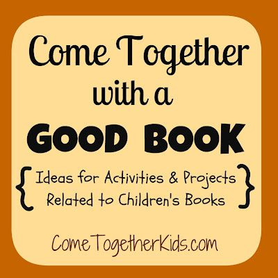Cool link to good children's books with activity ideas by bloggers