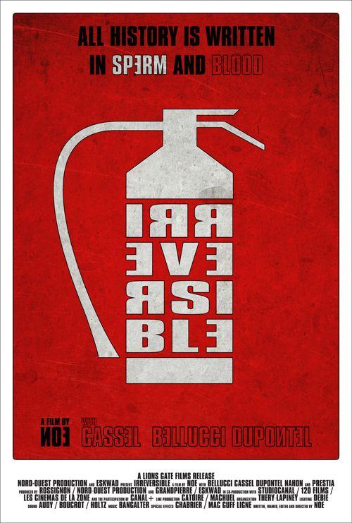 Irreversible Alternative Movie Posters Movie Posters Minimalist Cinema Posters
