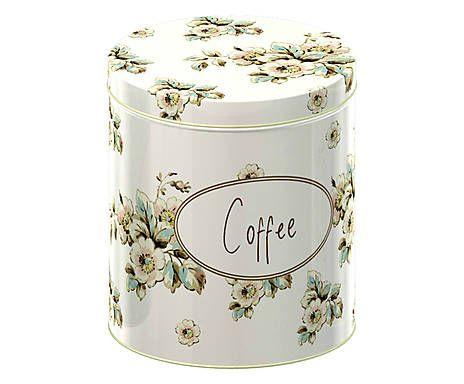 Conjunto de potes flower katie ali & co - 10,8x13,8cm