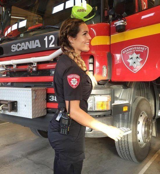 Работа пожарного для девушки работа моделью в 28 лет