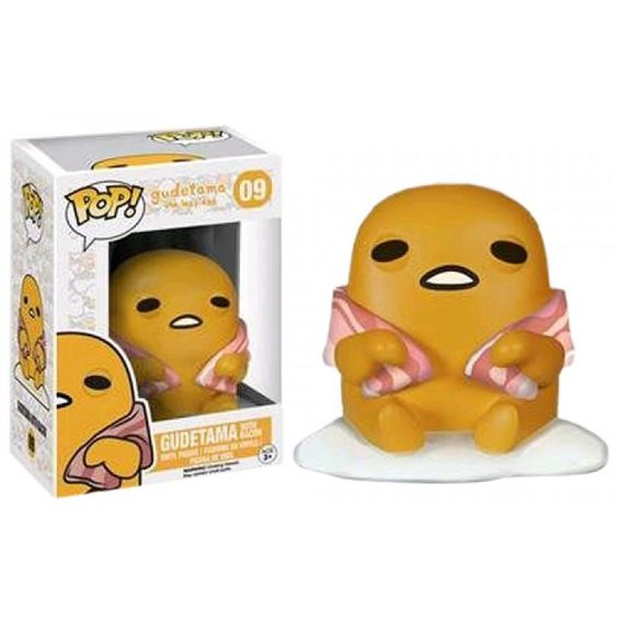 Pop! Vinyl - Sanrio - Gudetama with Bacon